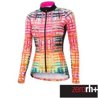 【ZeroRH+】義大利 FASHION LAB 女仕專業刷毛自行車衣(粉色 ICD0610_15P)