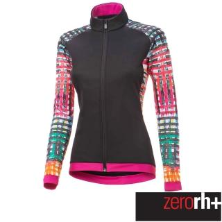 【ZeroRH+】義大利 FASHION LAB 女仕專業自行車外套(黑/粉 ICD0609_15P)
