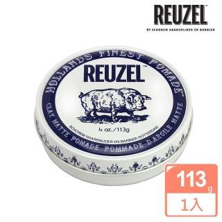 【REUZEL】Clay Matte Pomade 白豬強力黏土級水性髮泥(113g)