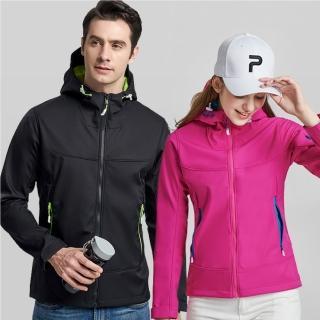 【NEW POWER】拼色衝鋒外套/厚絨防風外套/男士立領外套-三款任選(內裡刷絨/保暖禦寒)