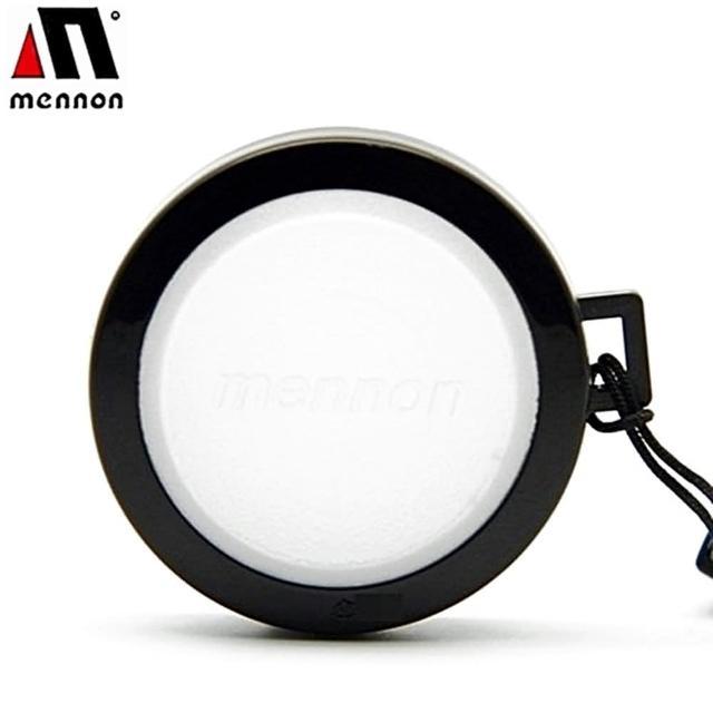 【Mennon】白色白平衡46mm鏡頭蓋(白平衡板WB蓋