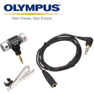 【OLYMPUS】領夾式麥克風ME51SW(收音麥克風 錄音麥克風 領帶夾)