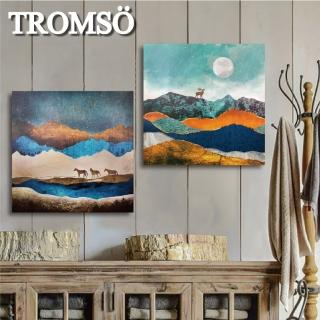 【TROMSO】時尚無框畫/百岳大境(無框畫掛畫掛飾)