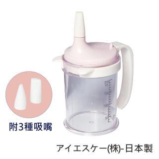 【感恩使者】吸食輔助瓶 (E0265) 吸嘴先生-附3種吸嘴(可喝水 飲料 流質食物-日本製)
