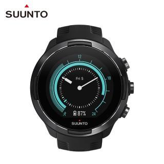 【SUUNTO】Suunto 9 Baro Black 堅固強勁 超長電池續航力 及 氣壓式高度的多項目運動GPS腕錶(經典黑)