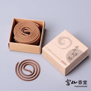 【富山香堂】安汶琦楠1.5H盤香補充包(沉香盤香香薰)