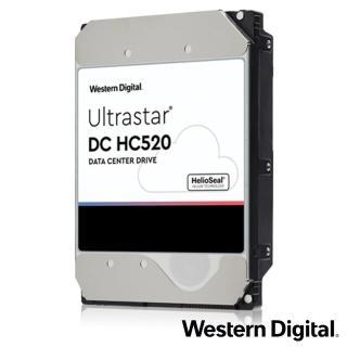 【Western Digital】Ultrastar DC HC520 12TB 3.5吋企業級硬碟(HUH721212ALE604)