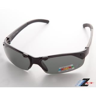 【Z-POLS】專業黑Polarized頂級抗UV400運動偏光太陽眼鏡(釣魚、出遊等皆可用!帥氣有型超好看!)
