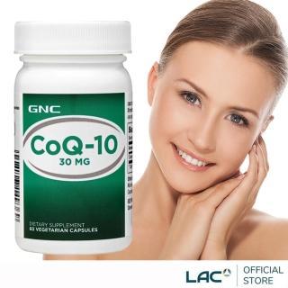 【GNC 健安喜】輔酵素Q10膠囊 60顆(輔酉每/Q10)