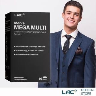 【GNC 健安喜】美佳男複方維他命 90錠(鋅/B群/南瓜籽油/蕃茄紅素)