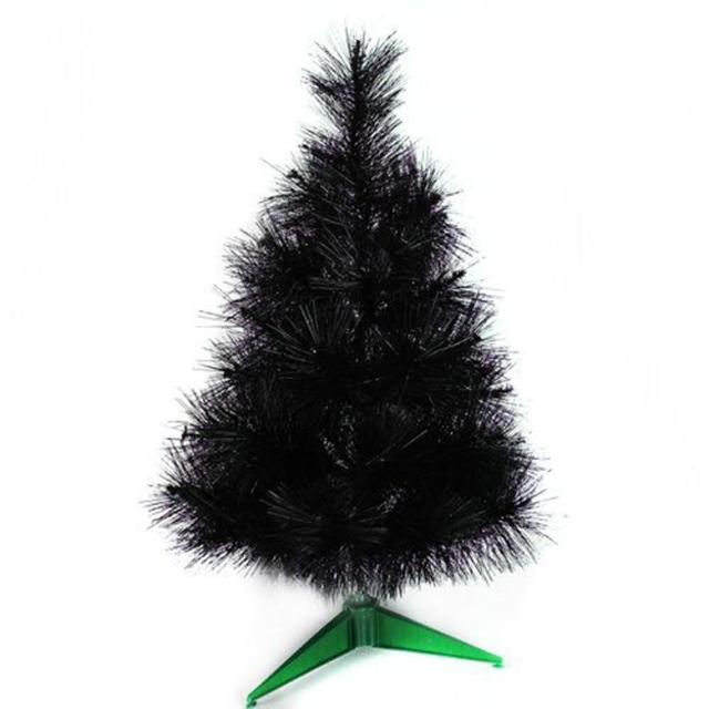 【摩達客】台灣製3尺/3呎90cm特級黑色松針葉聖誕樹裸樹(不含飾品/不含燈)/
