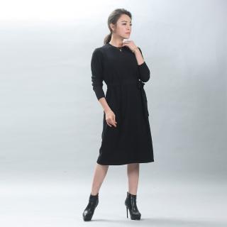 SuperWands精品編織穠纖合度羊絨洋裝