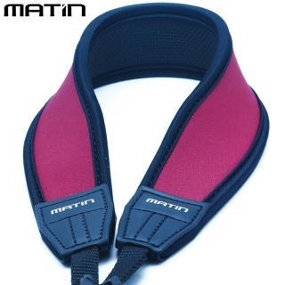 【韓國馬田MATIN】防滑彈性DSLR單眼相機減壓背帶減壓相機背帶M-6784(酒紅色 彎型 無字樣)