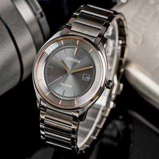 【CITIZEN 星辰】Eco-Drive 簡約質感光動能腕錶(BM7407-81H)