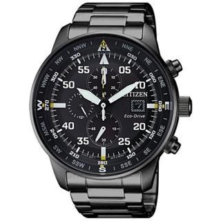 【CITIZEN 星辰】Eco-Drive 極致三眼光動能腕錶(CA0695-84E)