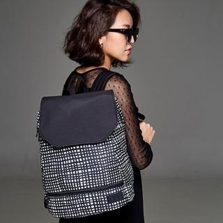 【OGG】時尚防水媽媽包 拼拼格子(爸爸包、筆電後揹包)