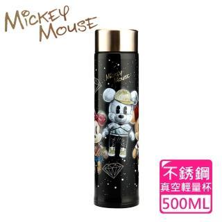 【Disney 迪士尼】米奇公仔#304不鏽鋼真空輕量保溫瓶(500ml)