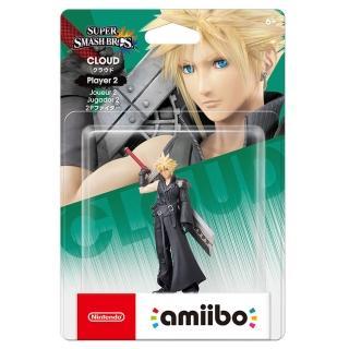 【Nintendo 任天堂】amiibo公仔 克勞德2P(明星大亂鬥)