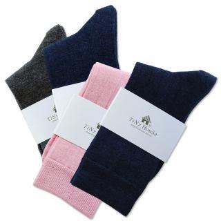 【TiNyHouSe 小的舖子】超細輕薄保暖羊毛襪 超值2雙組入(T-610/601)