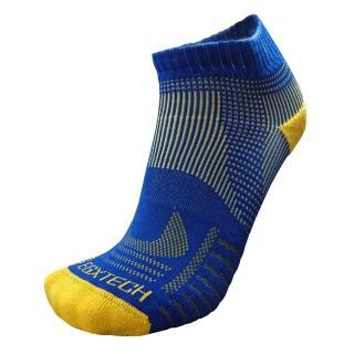 【EGXtech】P81短統多功8字運動襪(藍黃2雙入)