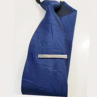 【拉福】領帶夾窄版領帶夾窄領夾雙刀(4cm)