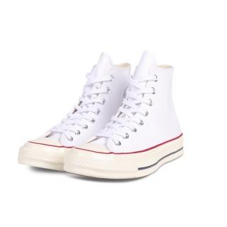 【CONVERSE】CHUCK 70 HI 白 男女 休閒鞋(162056C)