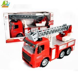 【Playful Toys 頑玩具】燈光音樂消防車