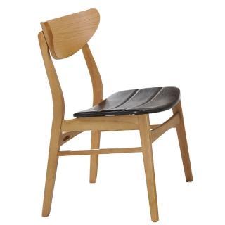 【AT HOME】北歐簡約原木色餐椅/休閒椅(史迪奇)