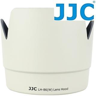 【JJC】Canon副廠ET-86遮光罩 花瓣型白色(遮光罩 遮陽罩 太陽罩)