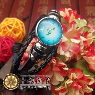 【十相自在】綠度母心咒水晶咒輪手環(Kala-048)