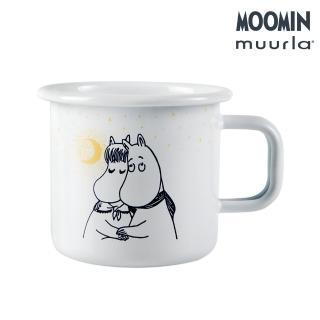 【JIA Inc 品家家品】Muurla - 嚕嚕米戀愛琺瑯馬克杯 白色(370cc)