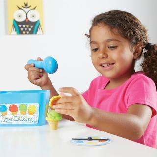 【美國Learning Resources教學資源】冰淇淋學習寶盒