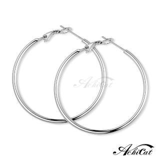 【AchiCat】鋼耳環 經典大圈圈 耳環 G8002(寬度2mm)