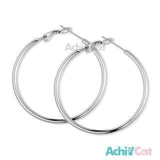 【AchiCat】鋼耳環 經典大圈圈 耳環 G8003(寬度1.6mm)