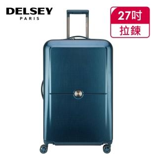 【DELSEY 法國大使】TURENNE-27吋旅行箱-藍色(00162182102)