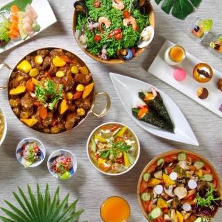 【電子票券】台北花園酒店饗聚廚房自助式午餐或晚餐券(假日+200)