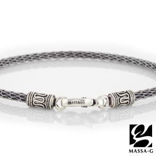 【MASSA-G】MASSA-G Titan銀鍺系列 阿特密斯Mini 3mm超合金鍺鈦腳環