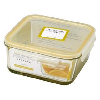 【SYG 台玻】耐熱方形玻璃保鮮盒(1200ml)