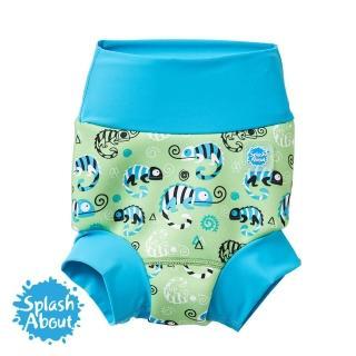 【Splash About 潑寶】3D加強版 游泳尿布褲(國王變色龍)