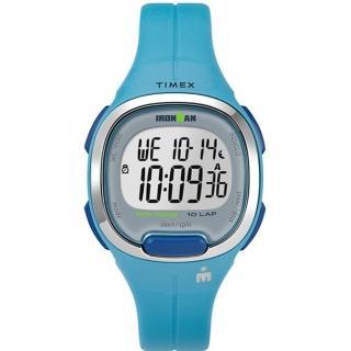 【TIMEX】天美時 鐵人系列 專業運動電子錶(藍 TXTW5M19500)