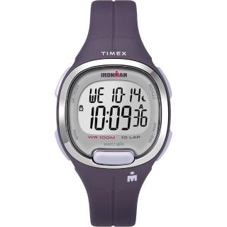 【TIMEX】天美時 鐵人系列 專業運動電子錶(紫 TXTW5M19700)
