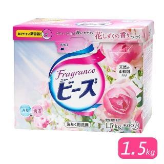 【日本Kao】玫瑰果香洗衣粉-1.5kg(特大限量版)