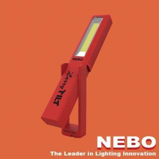 【NEBO】Larry Tilt任意傾斜COB LED手電筒-經典紅(手電筒)