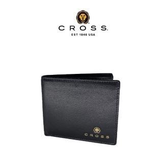 【CROSS】限量2折起 頂級NAPPA小牛皮4卡1零錢袋男用皮夾 福利品特價(專櫃展示品99%新)