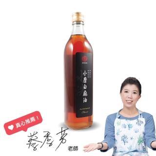 【真老麻油】純小磨白麻油500ml(純芝麻香油)