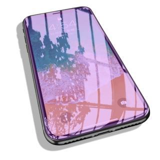 iPhone 抗藍光高清滿版鋼化保護貼(iPhone 11 Pro MAX iX XS XR i7 i8 i7+ i8+ 抗藍光 護眼 玻璃貼)