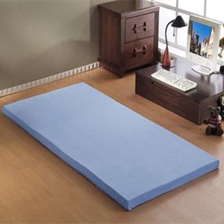 【班尼斯】5公分惰性記憶矽膠床墊-附3M吸濕排汗布套(全平面-3.5尺單人加大)