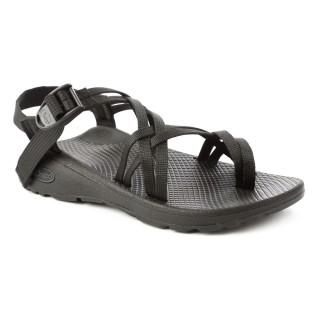 【CHACO】女 越野舒壓運動涼鞋-雙織夾腳款CH-ZLW04H405(黑)