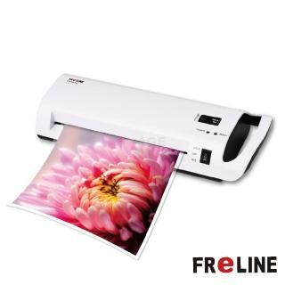 【FReLINE】A4冷、熱護貝機(FM-860HC)+多功能收納裁紙機 FC-181+A4護貝膠膜FF-A4100(100張)