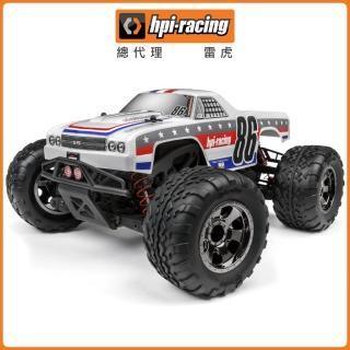 【HPI Racing】小野人Savage XS FLUX 雪佛蘭 El Camino SS 1/10 無刷四驅大腳車 6020HP-120093(大腳車)